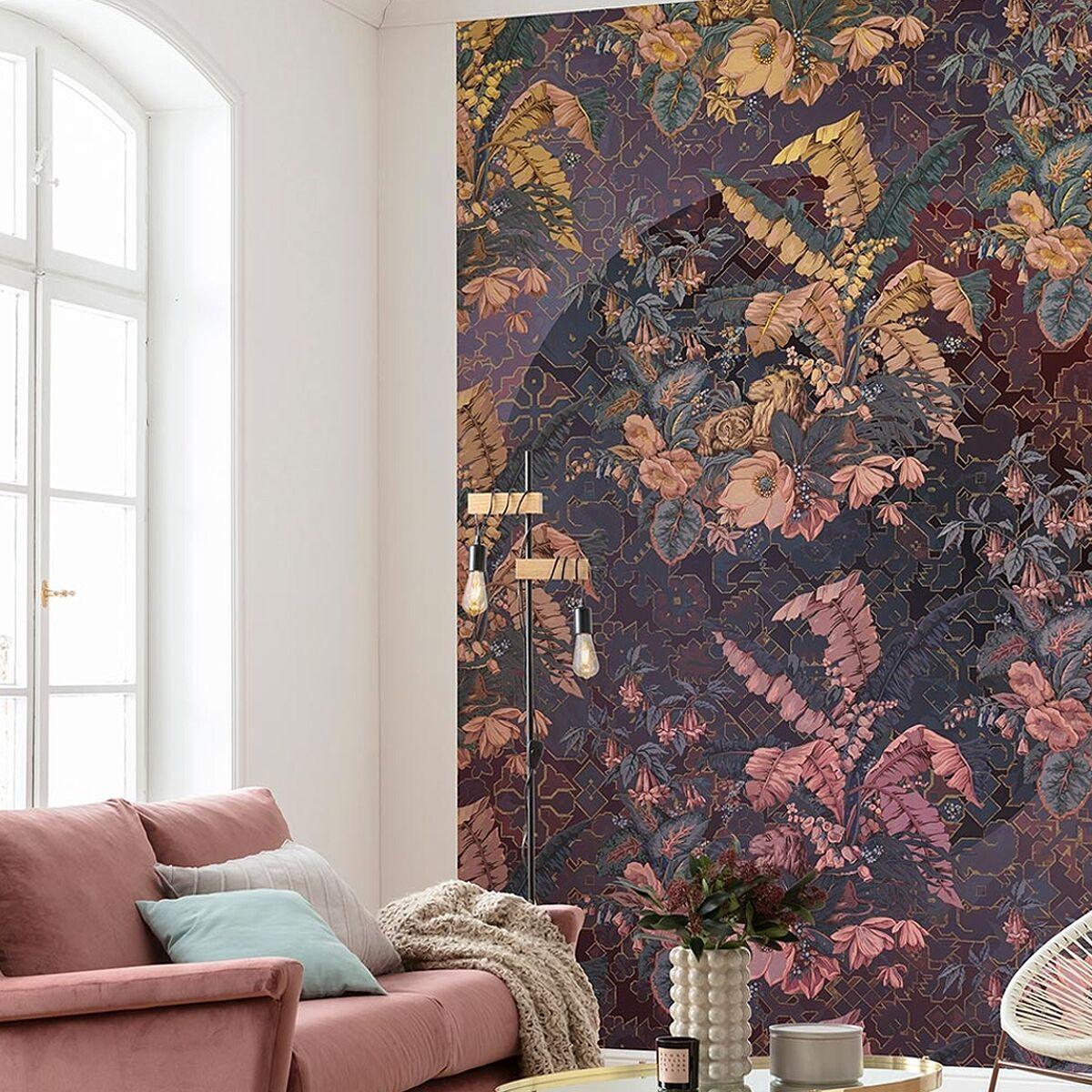 Orient Violet Col 1 Tapeten Fototapete Und Floral Muster