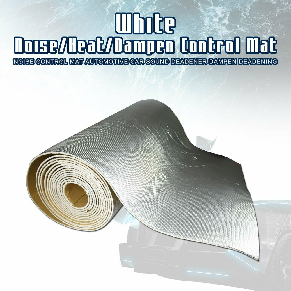 Car Sound Deadening Mat Automotive Sound Deadener Audio Noise Insulation and Dampening Heat Shield Thermal Sound Insulation Mat
