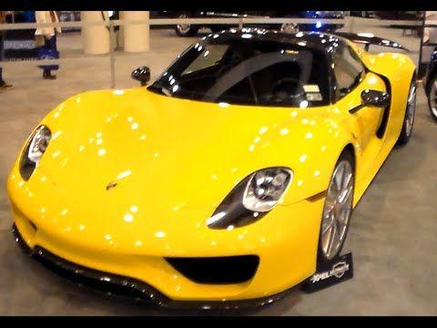 2 Porsche 918 Spyder S Lamborghini Huracan Houston Auto Show