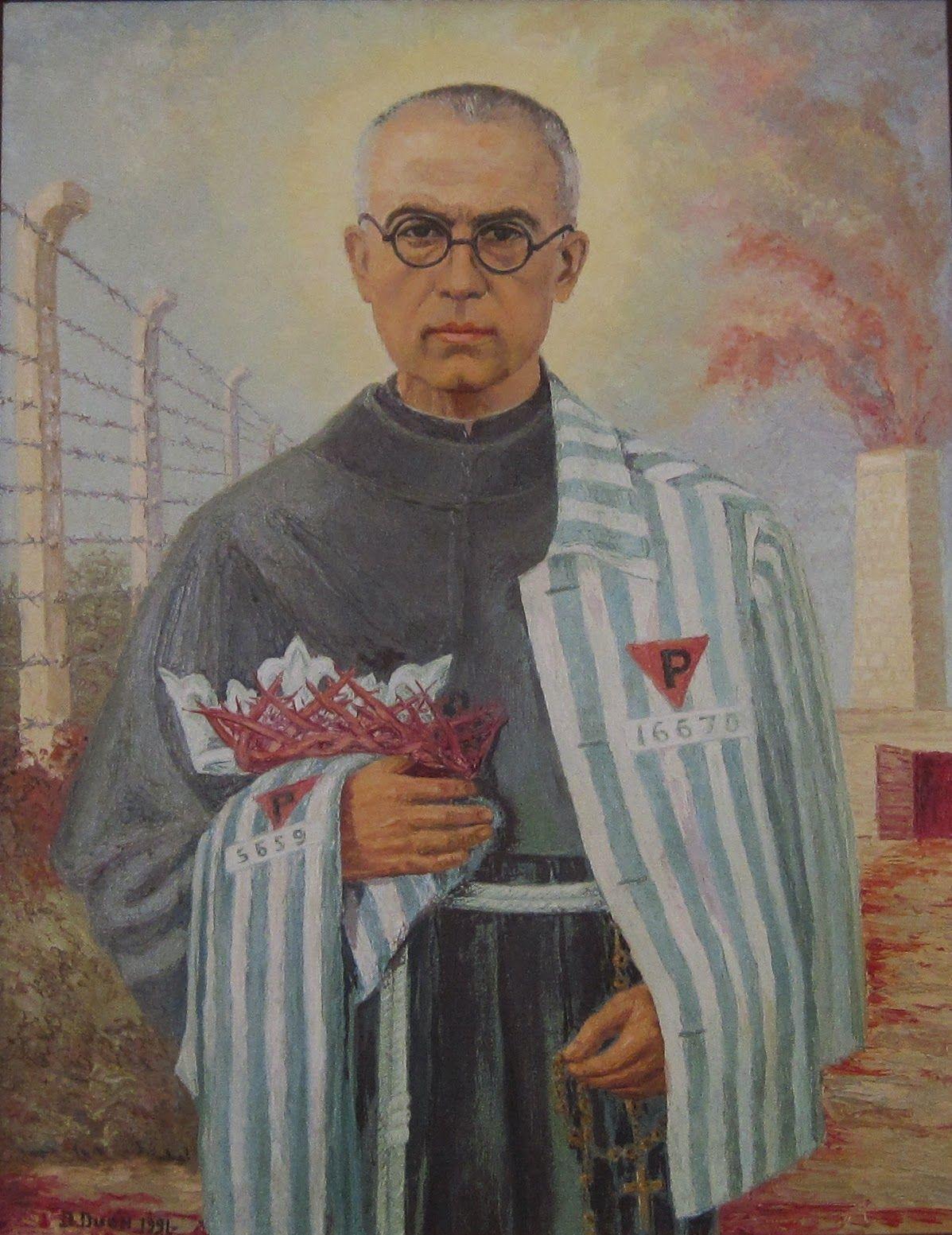 Vie de Saint Maximilien-Marie Kolbe - Grande admiration pour ce saint  prêtre - Émouvant !