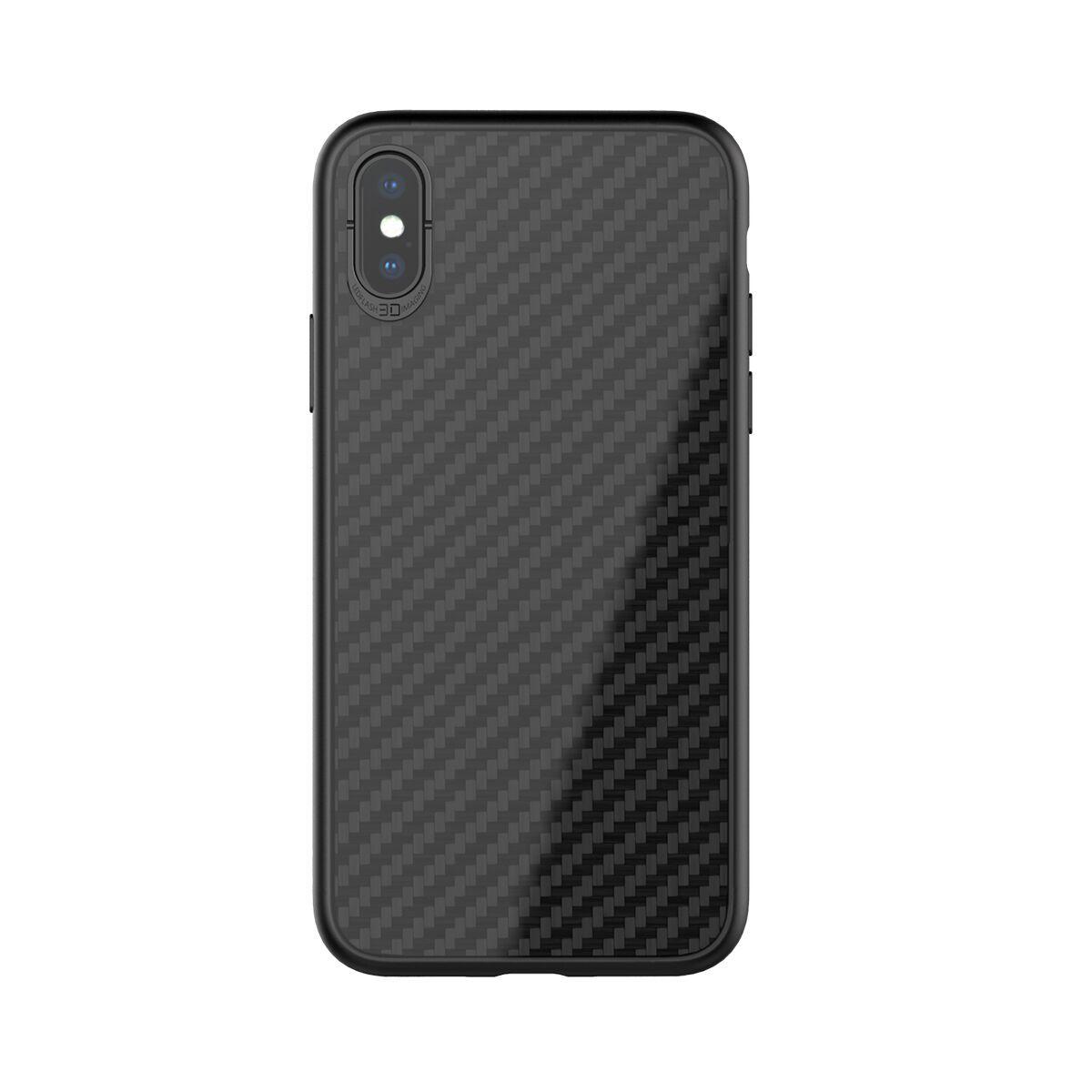 Blackleaf Case Iphone X Iphone 10 Ultra Slim Carbon Fiber Cover Image 1x1 Trans On Https Www Casefanatic Com