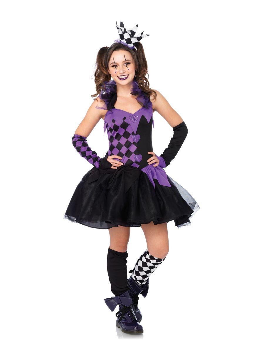 Purple jester girls costume spirit halloween costume options pinterest spirit halloween - Costume halloween fille ...