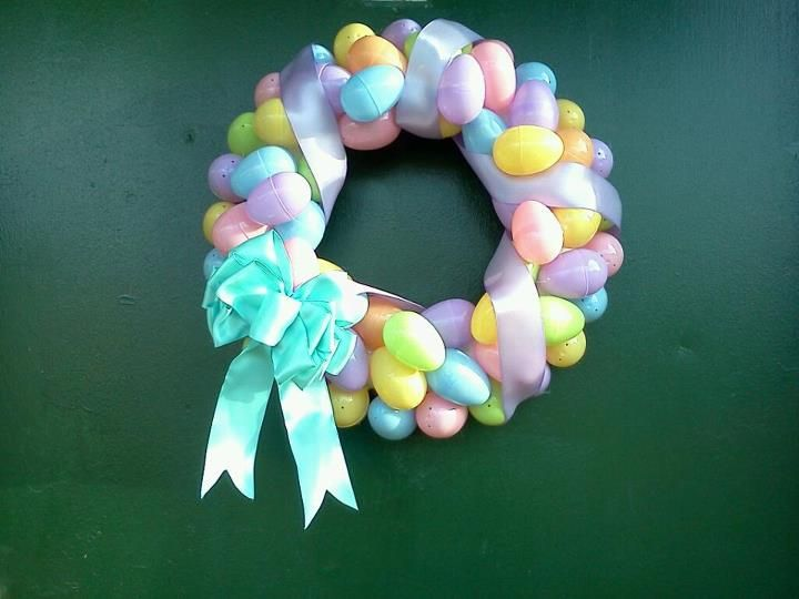 Easter Wreath. I think I like this one the most <3