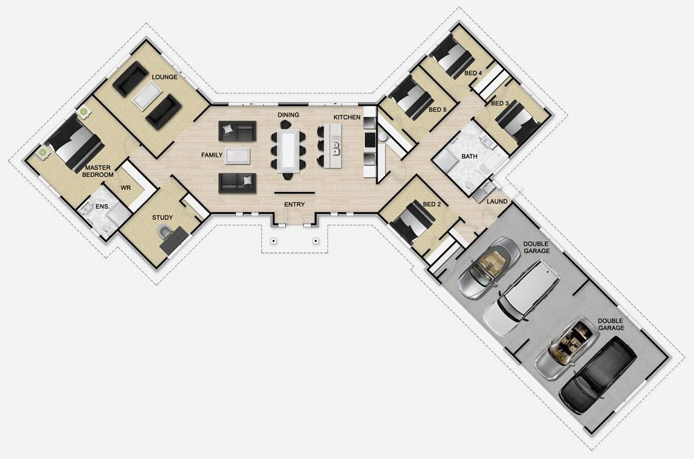 Golden Homes Plan: Mono 283 | Architecture | Pinterest | House ...