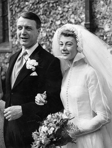 Hugh Cruttwell and Geraldine McEwan