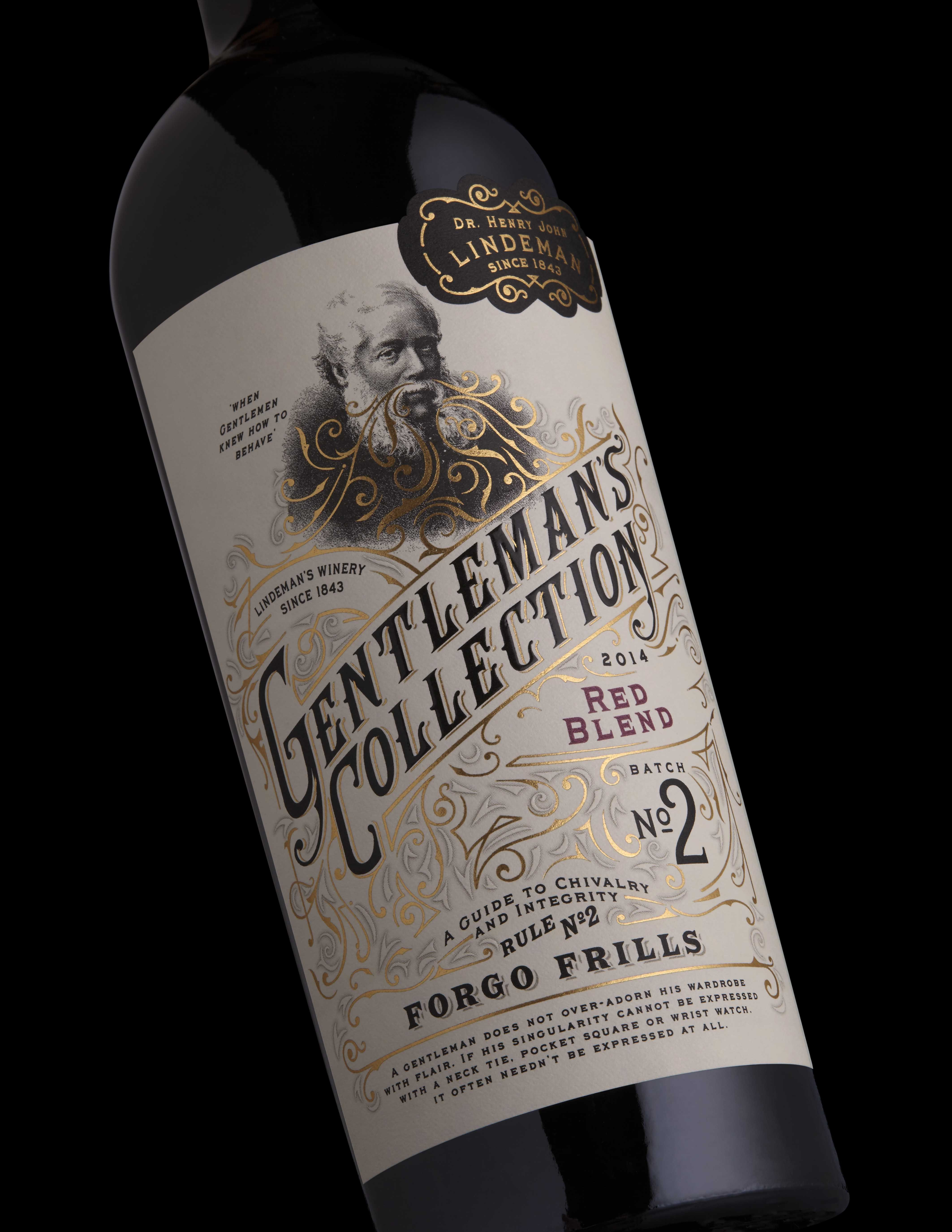 Gentleman S Collection No 1 And 2 Graphis Bottle Label Design Wine Bottle Label Design Wine Label Design