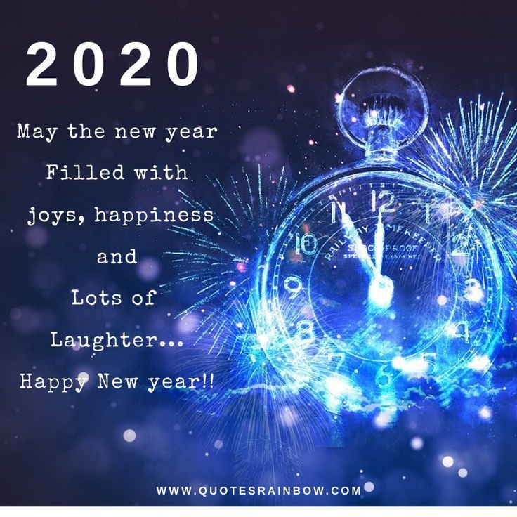 2020 Happy New Year Wishes for Whatsapp Happy new year