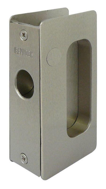 Cavilock Cl200d Pa 34 Passage Pocket Door Set For 1 3 4 Inch Door Thickness Satin Nickel Pocket Door Lock Passage Products Pocket Door Lock Pocket Doors