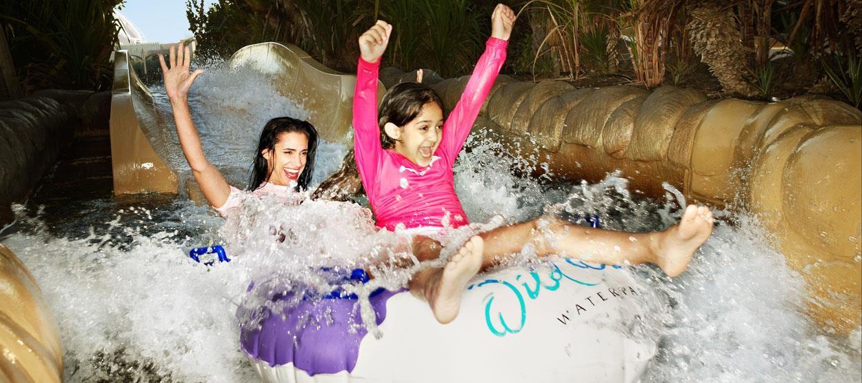 Parque wild wadi em dubai