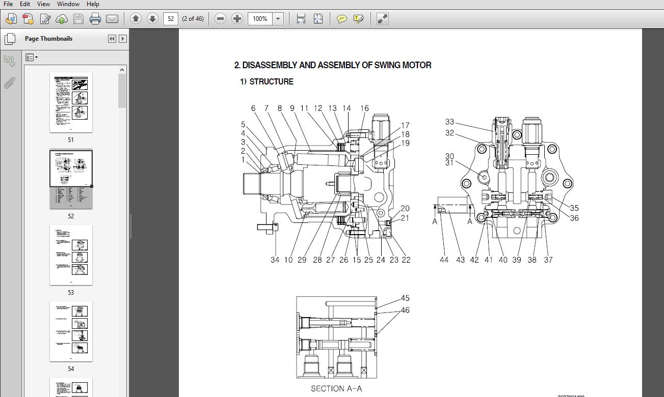Hyundai R360lc 7 Crawler Excavator Service Repair Manual Pdf Download Repair Manuals Hyundai Excavator