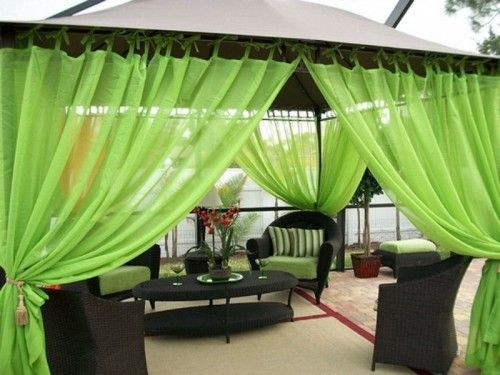 60 Ideas Of Fabric Decor In Your Garden Shelterness Gazebo