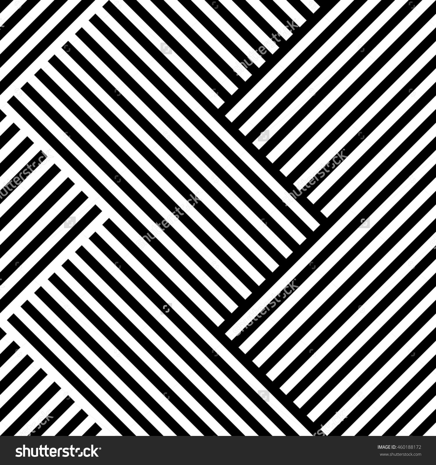 Lines Repeatable Geometric Pattern Mosaic Of Lined