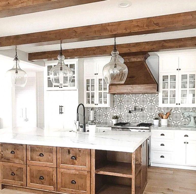 Scandinavian Kitchendesign Ideas: Gray, White And Natural Wood Kitchen Kitchendesign