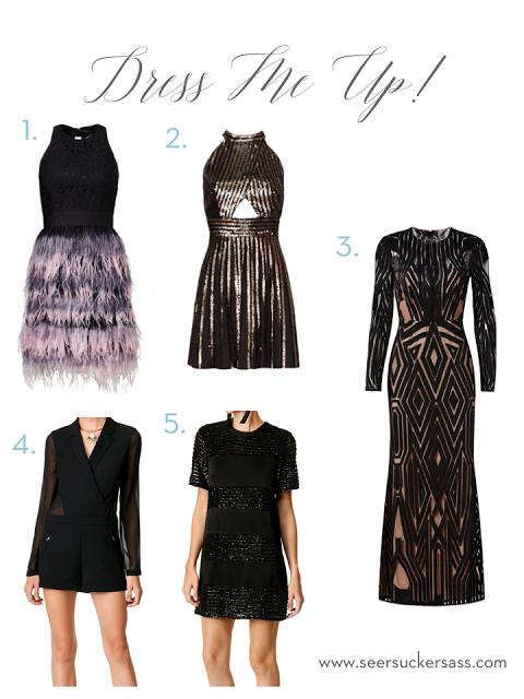 Gangster or Gatsby Gala Gown Ideas