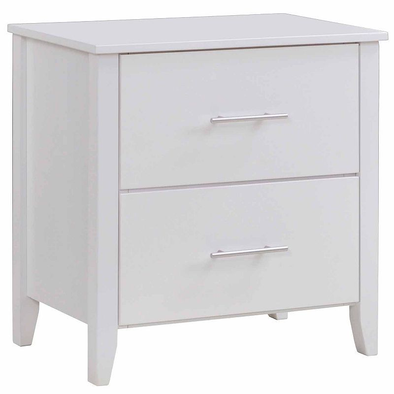 2 Drawer Nightstand Corliving 2 Drawer Nightstand Drawer Nightstand