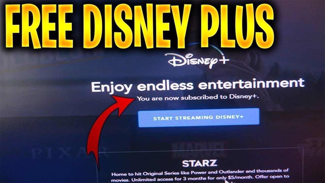 How To Get Free Disney Plus How To Get Free Disney Plus For One Year How To Get Free Disney Plus No Money Paid Ho In 2021 Disney Plus Disney Account
