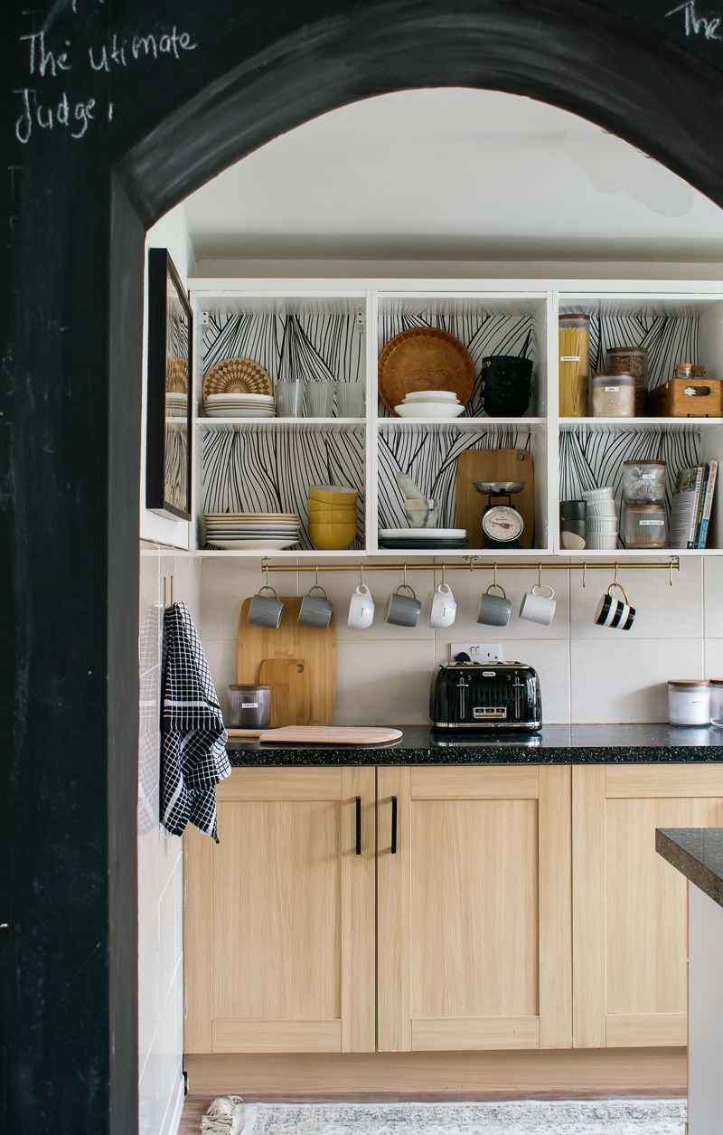 Rental Kitchen Update: How to Convert existing Cabinets ...