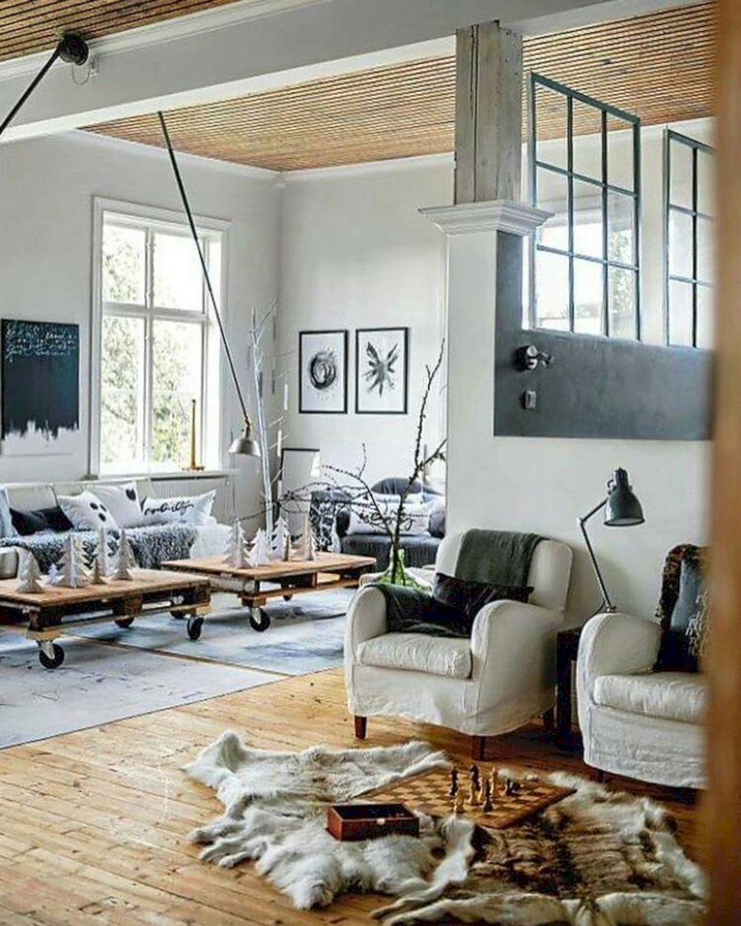 Most Beautiful Scandinavian Style Interior Ideas