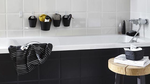 Salle de bain moderne et zen  rénover facile