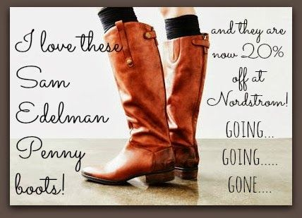 500f05ceaf42 Nordstrom CLEARANCE SALE! The Sam Edelman Penny boots that are seriously  popular and have AMAZING reviews are 20% OFF! Going