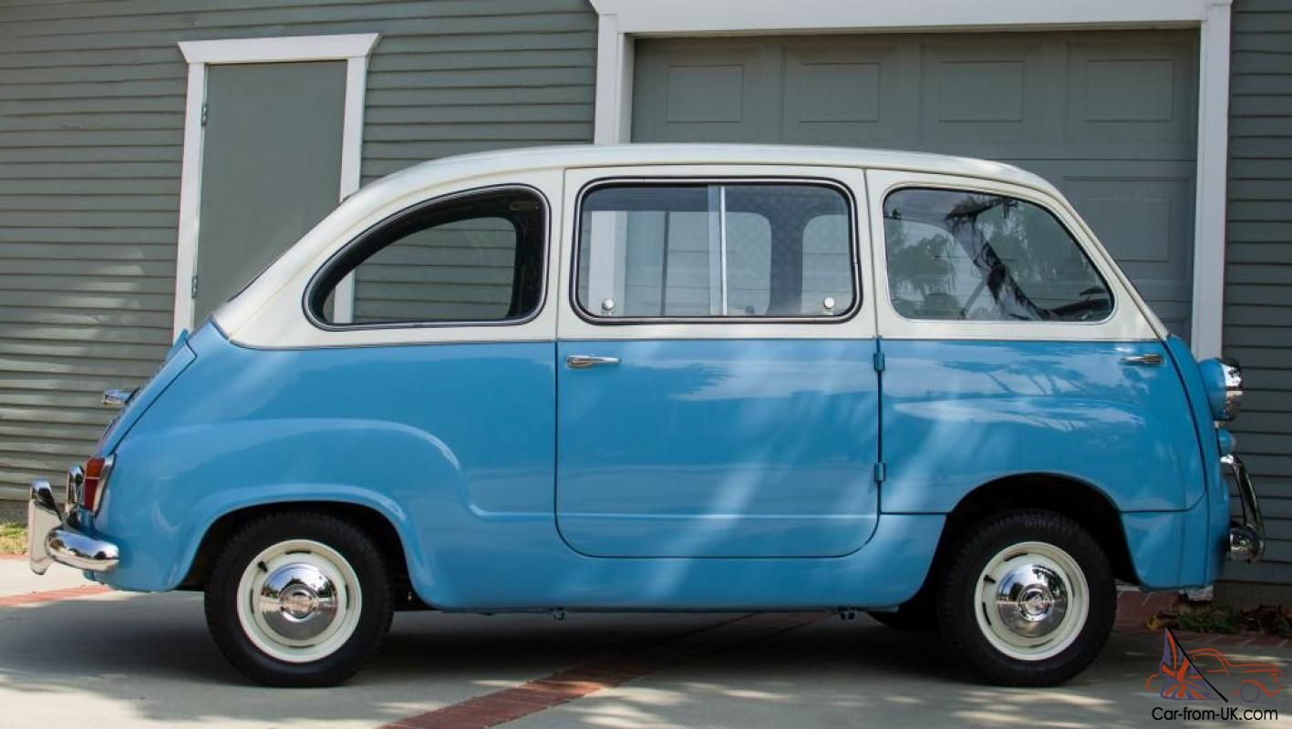 Up For Sale Is A Rare And Beautiful 1958 Fiat 600 Multipla 4 Door Station Wagon This Super Clean Example Was Saved By A Collector Fiat 600 Fiat Station Wagon