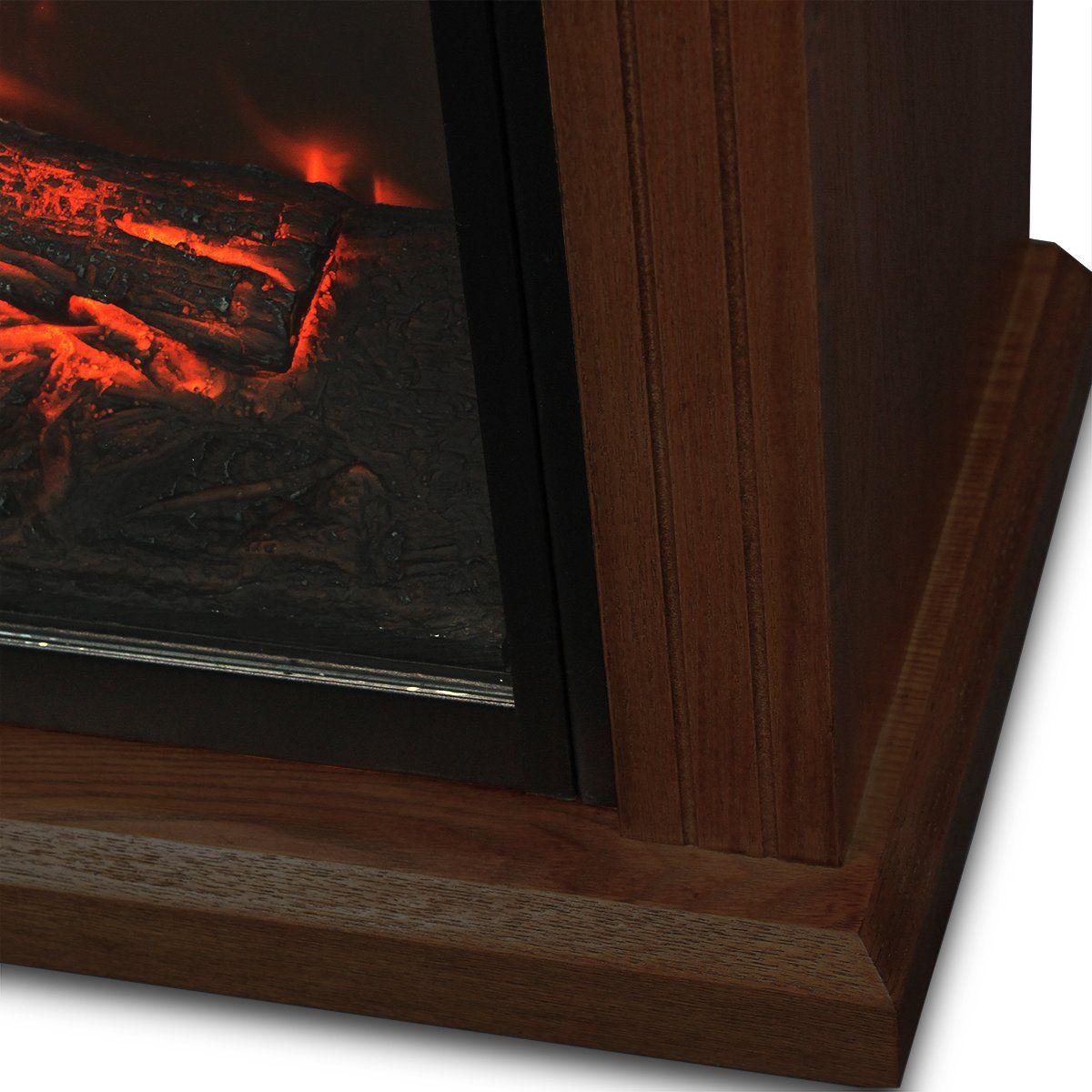 XtremepowerUS Infrared Quartz Electric Fireplace Heater ...