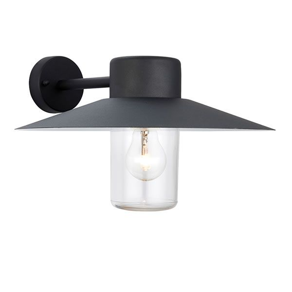 Endon fenwick 1lt black wall outside light a stylish exterior wall endon fenwick 1lt black wall outside light a stylish exterior wall light finished in a aloadofball Images