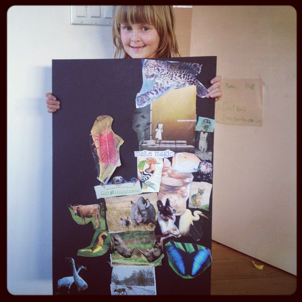 How To Create Vision Boards With Kids