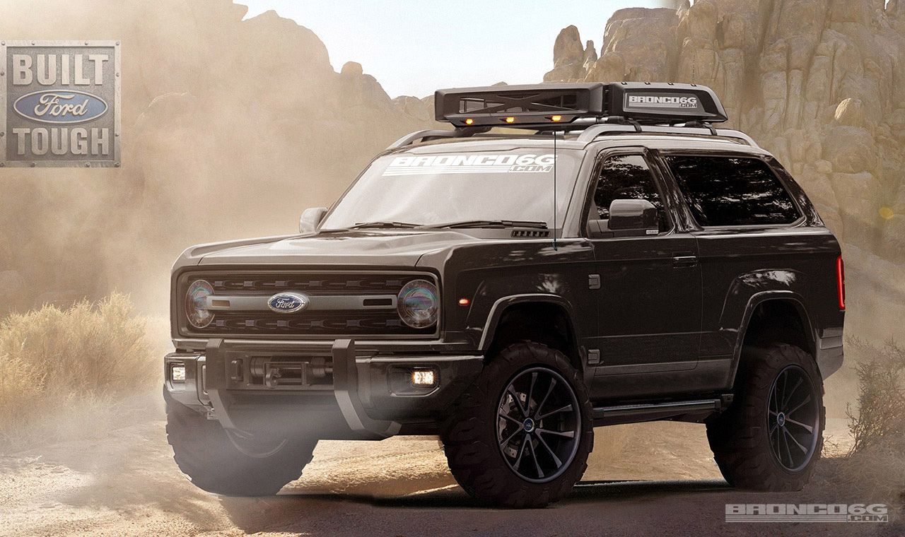 2020 ford bronco concept designed by a fan forum is absolutely perfect