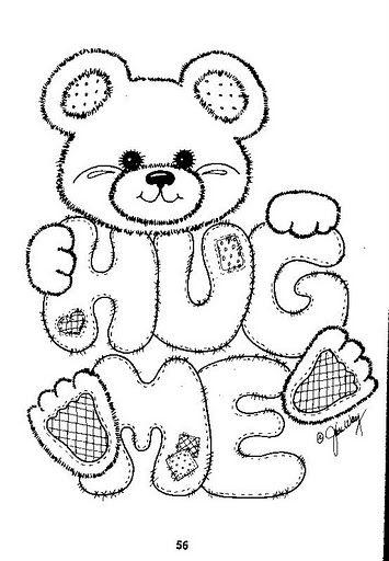 Hug Me | Digi - Animals | Pinterest | Molde, Patrones y Dibujo