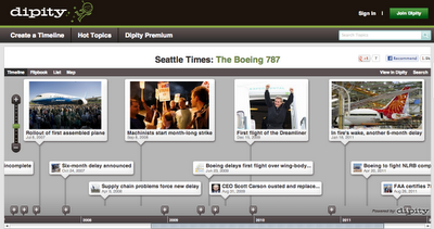 six multimedia timeline creation tools for students free