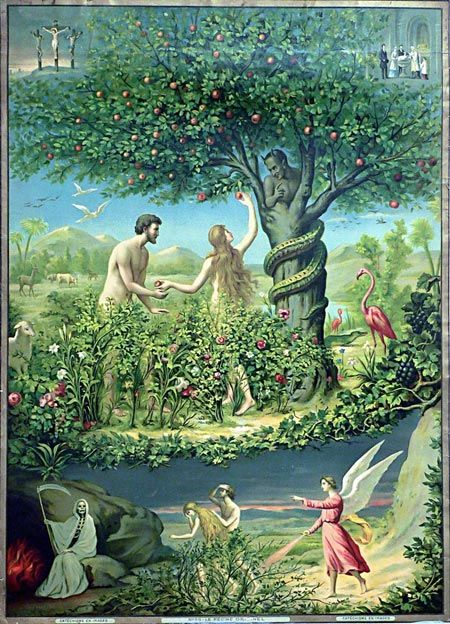 The Garden Of Eden Jesus Pictures Bible Pictures