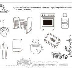 Dependencias de la casa: Objetos del cuarto de baño 3 ...