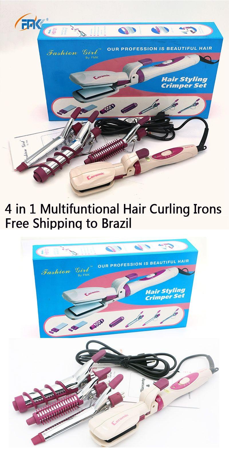 Fmk brand design pro multi function hair curling irons magic curly fmk brand design pro multi function hair curling irons magic curly wand 1set body wave malvernweather Choice Image