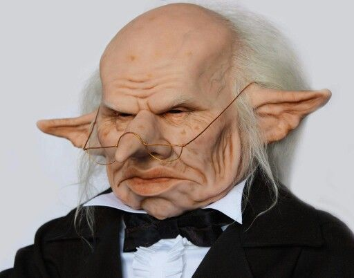 Gringotts Bank Manager Gnome Paint Harry Potter Characters Sculpting