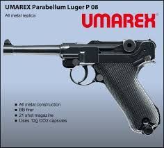 Image result for KWC P-08 Luger CO2 Blowback Airsoft Pistol