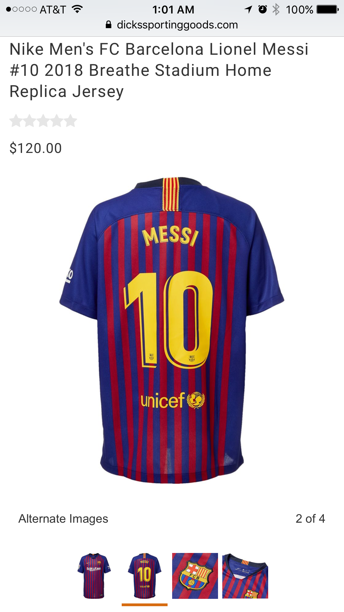 new style 03fe1 46fc2 Just got my 2018/2019 Barca Messi Jersey! I'm ready now ...