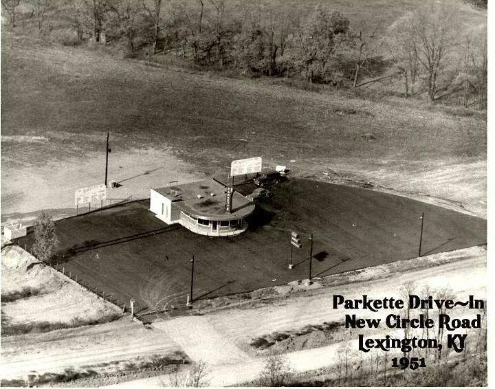 Lexington S Very Own Parkette Drive In Restaurant Circa 1950