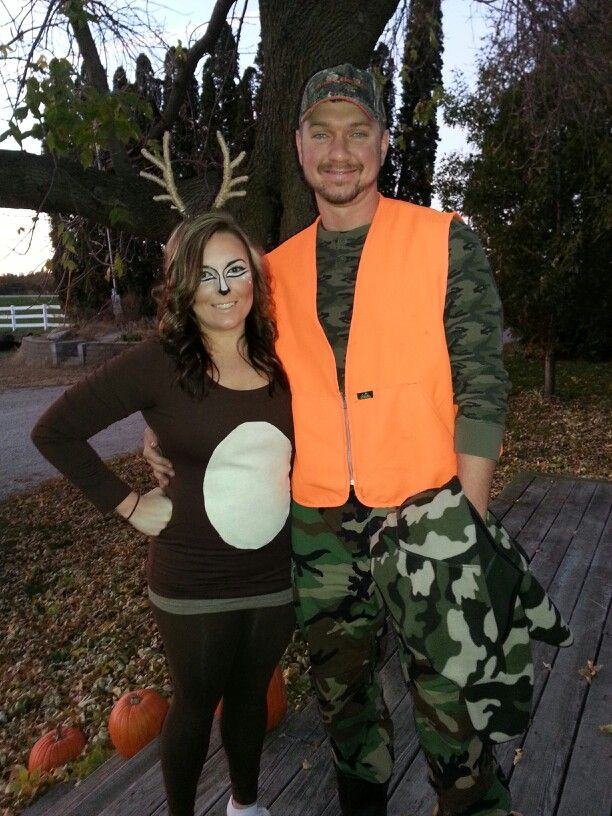 Deer and hunter Halloween Costume | great things in life ...