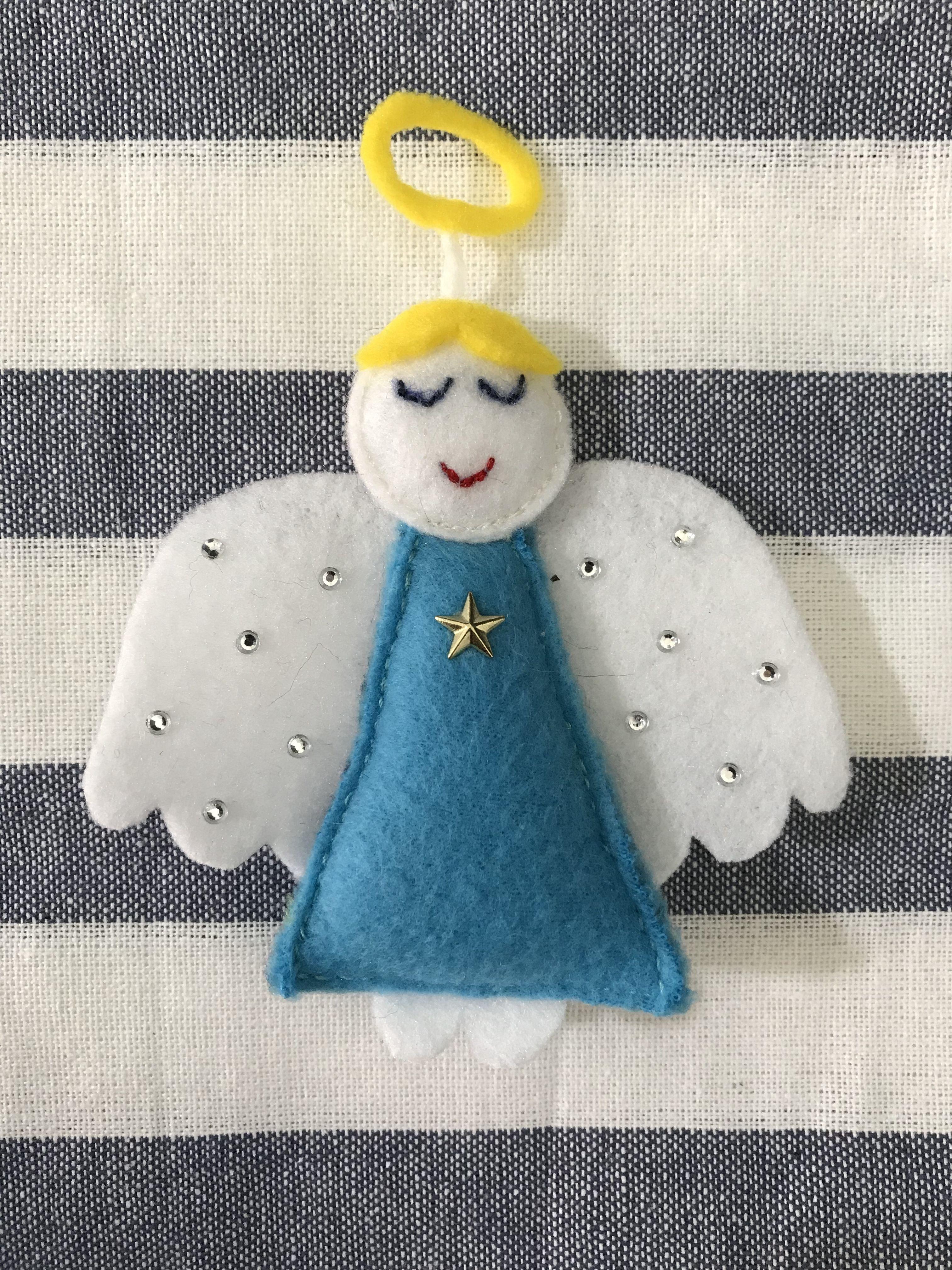 Diy Felt Angel Felt Felting Feltcraft Christmas Ornament Diy Angel Myagkie Igrushki Zakladki Igrushki