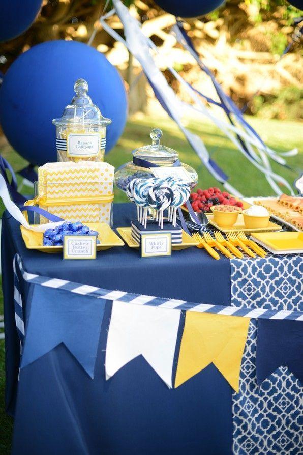 mariage bleu jaune oh party jaune et bleu bleu. Black Bedroom Furniture Sets. Home Design Ideas