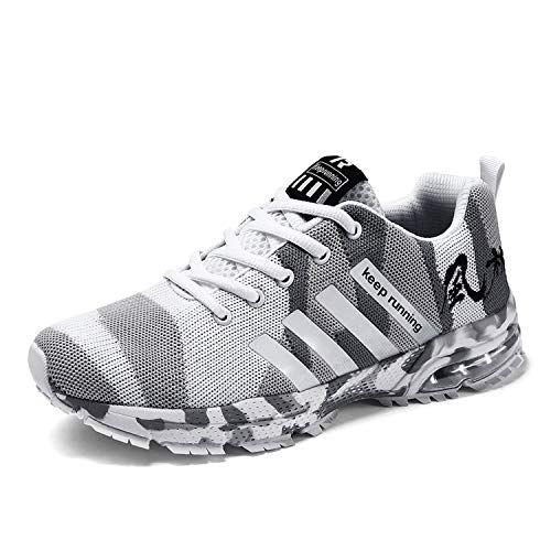 Kuako Men Damens Damens Damens Running Schuhes Air Trainers Fitness Casual Sports ... e06bd0