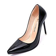 Mujer Zapatos Real Fall Leather PU Winter Fall Real Comfort Basic Pump Heels 1680ce