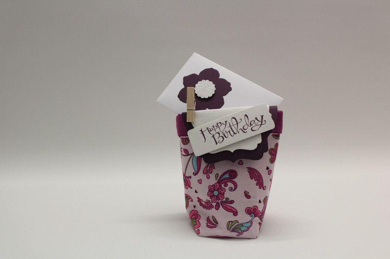 Geschenke für Frauen - Geschenktasche Geburtstag, Gutschein,Geldgeschenk - ein Designerstück von Geschenkewinkel bei DaWanda