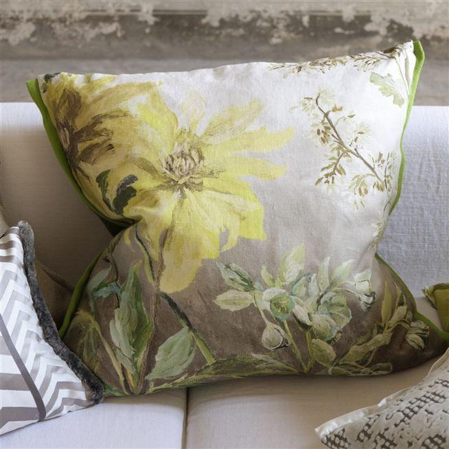 Nordic landscape pillow cover Sunset