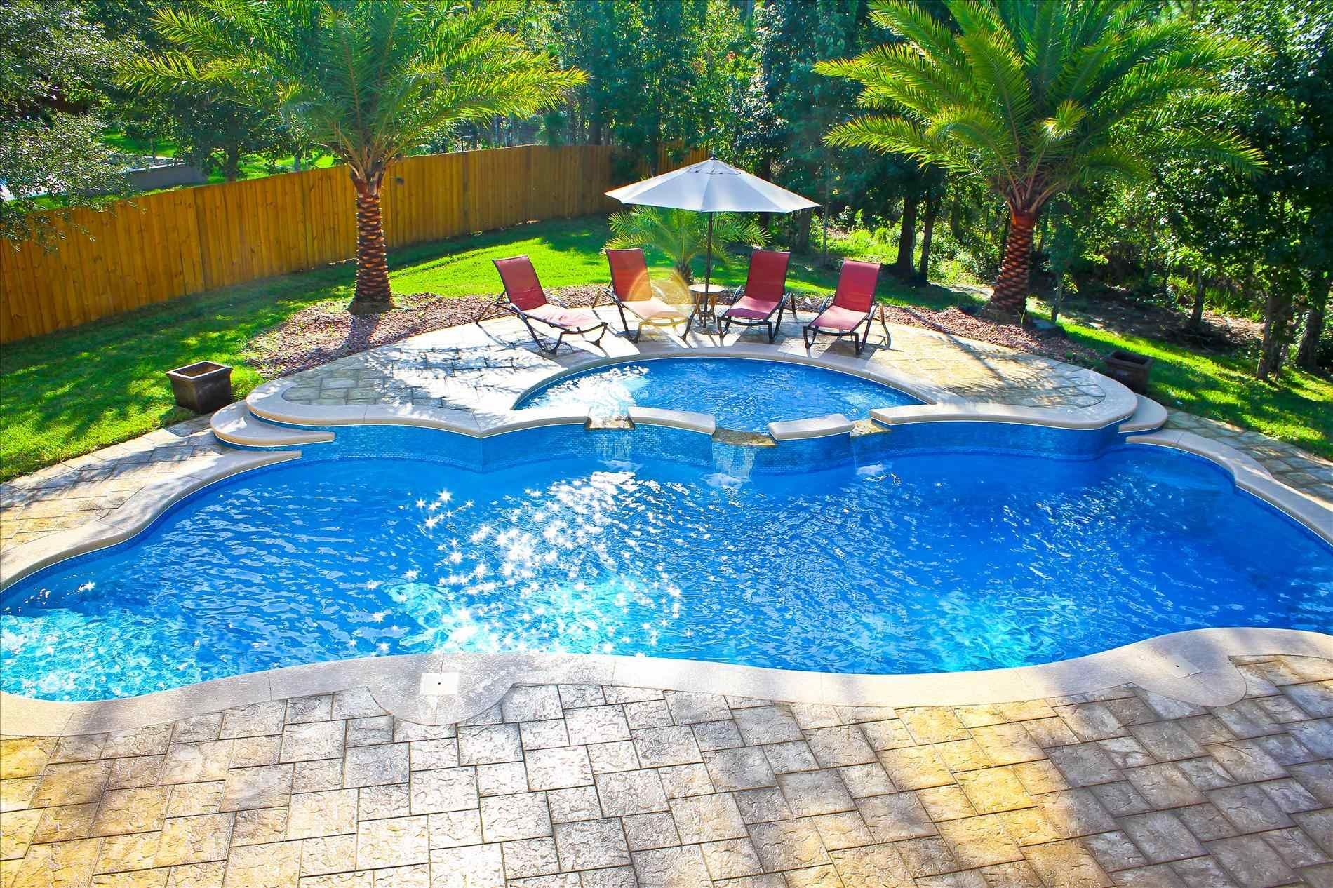Pool Hot Tub Combo Prices Savewallpaper Com Pools Backyard Inground Backyard Pool Designs Swimming Pool Designs