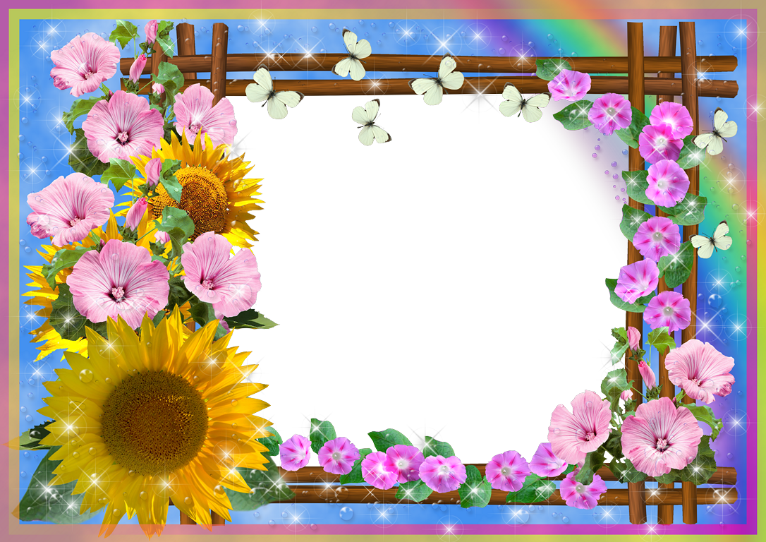 Resultado de imagen para marco de flores para fotos - Marco de fotos ...