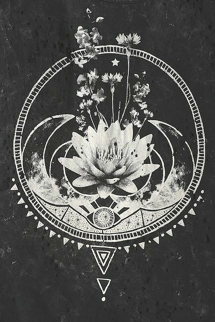 boho moon tattoos - Google Search. I can see incorporating these concepts into a sternum piece