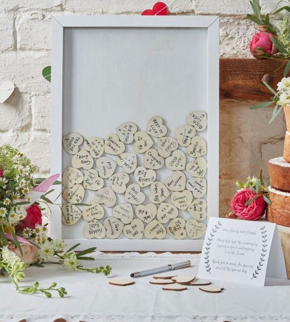 Rustic White Wooden Guestbook Dropbox. Summer Winter Autumn Spring friendly, unique wedding idea.