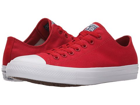 bc0922e8d819 Converse Chuck Taylor® All Star II Ox Salsa Red White Navy - Zappos.com  Free Shipping BOTH Ways
